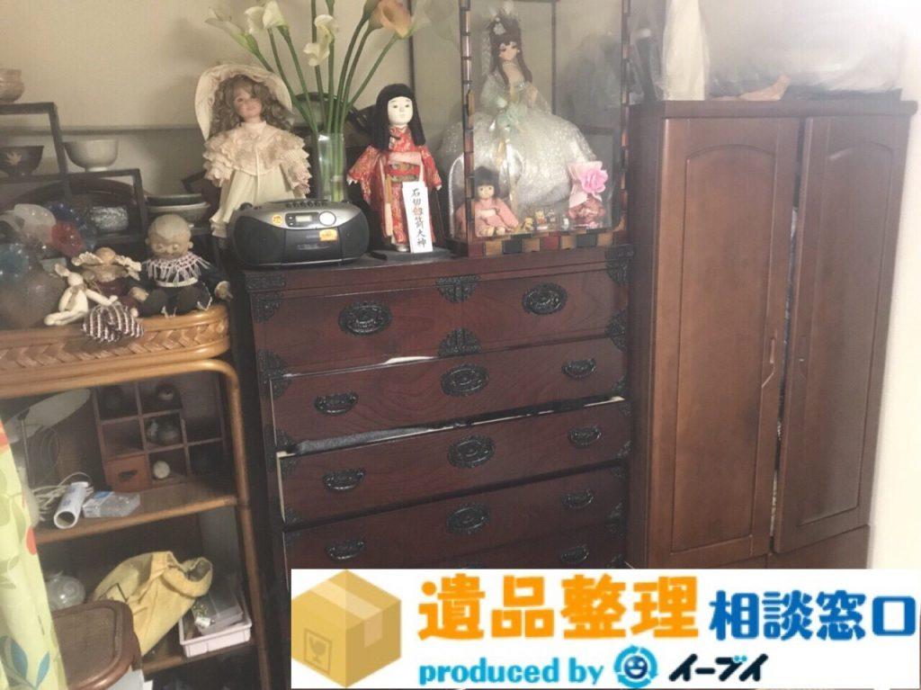 2018年3月11日大阪府泉南市で遺品整理に伴い大型家具や電化製品を処分しました。写真5