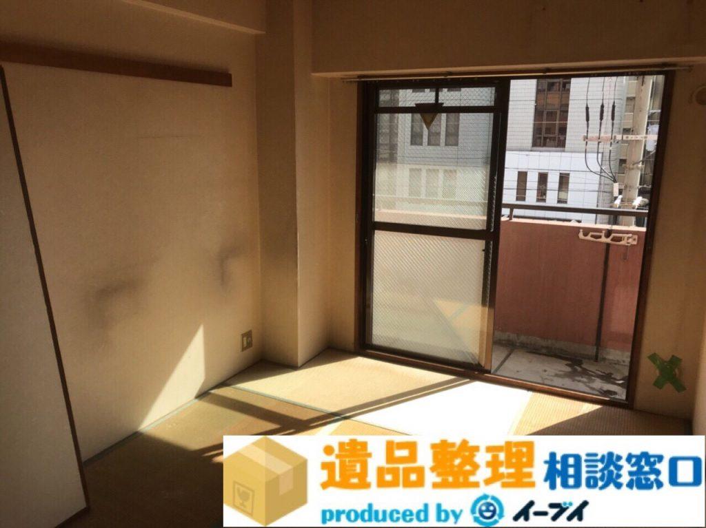 2018年3月10日大阪府泉佐野市で遺品整理に伴い布団や押入れの片付け処分をしました。写真3