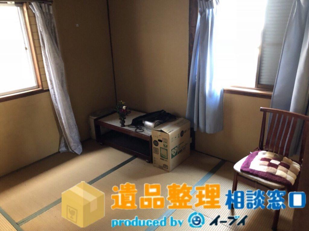 2018年8月23日兵庫県川西市で遺品尻整理に伴い、箪笥の処分や仏壇の合同供養のご依頼をいただきました。写真6