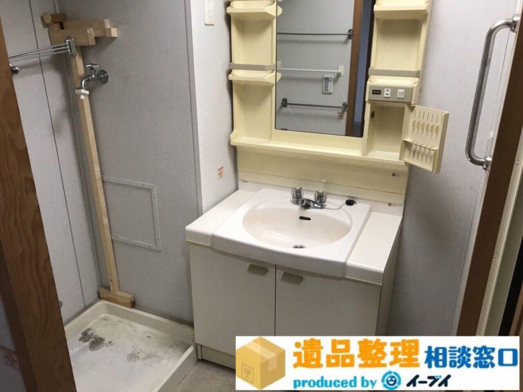 2018年8月19日大阪府豊中市で生前整理に伴い洗濯機や台所の片付け。写真3