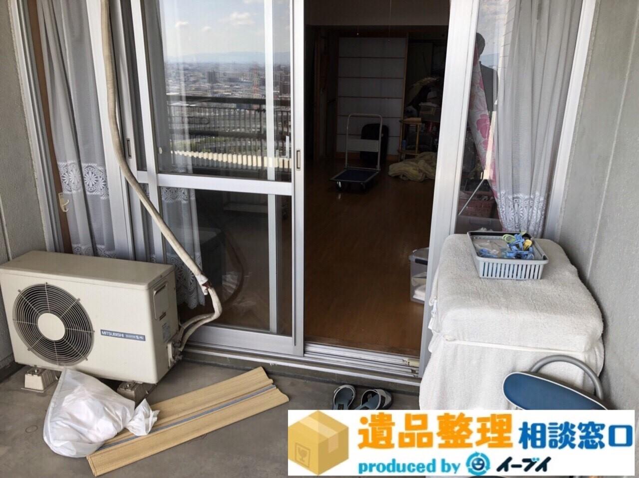 大阪府枚方市で生前整理に伴いベランダの廃品の処分。のアイキャッチ